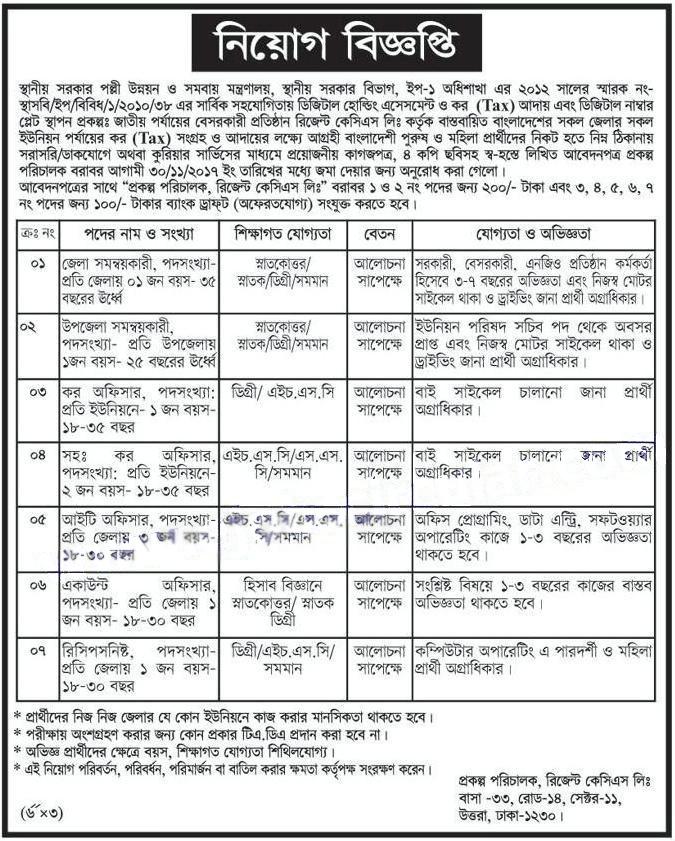 latest ngo job circular in bangladesh